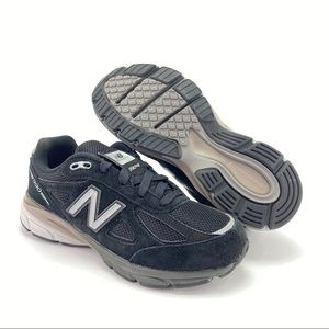 New Balance Boys 990v4 Running Shoes Grade School